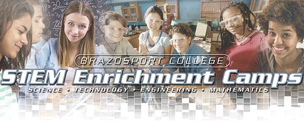 Community Education at Brazosport College STEM Enrichment Camps