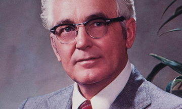 Dr. J. R. Jackson, First President of Brazosport College