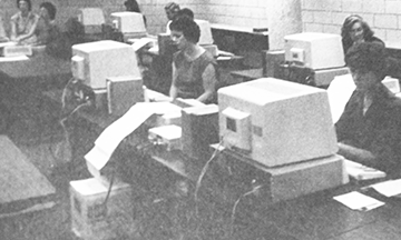 Students Using Computers between 1979 and 1984