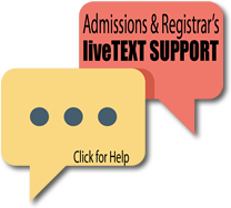 Click for Registrar live support