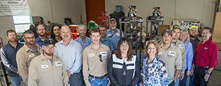tease BASF donates millwright equipment to Brazosport College