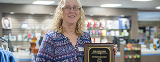 tease BC Bookstore manager wins prestigious award for second time