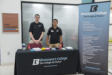 College Fair at Brazosport College answers students' questions