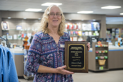 BC Bookstore manager wins prestigious award for second time
